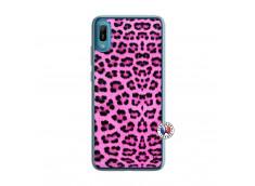 Coque Huawei Y6 2019 Pink Leopard Translu