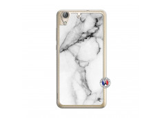 Coque Huawei Y6 2 White Marble Translu