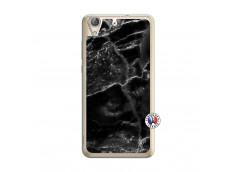 Coque Huawei Y6 2 Black Marble Translu