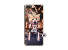 Coque Huawei Y7 2018 Cat Nasa Translu