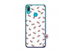 Coque Huawei Y7 2019 Cartoon Heart Translu