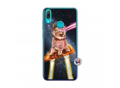 Coque Huawei Y7 2019 Cat Pizza Translu
