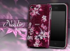 Coque iPhone 3G/S Kenzo Nadir Rouge