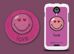 Coque Wiko Cink Five Smiley Love by Moxie | Master Case