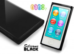 Coque Nano 7 Silicone Black