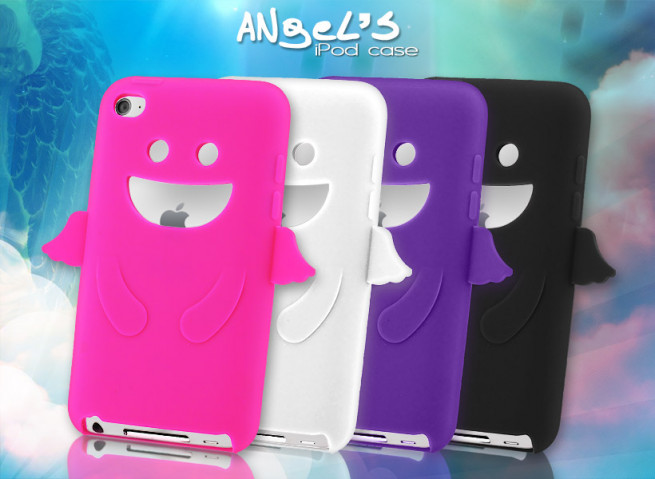 Coque iPod Touch 4 Angel's Case
