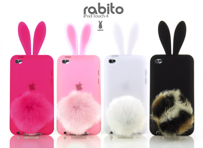 Coque iPod Touch 4 Rabito