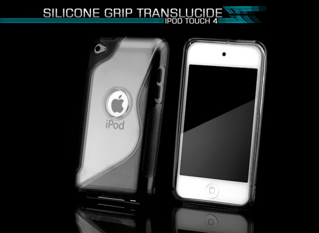 Coque iPod Touch 4 noir