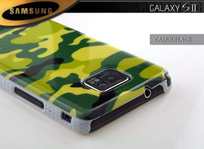 Coque Samsung Galaxy S2 Camouflage