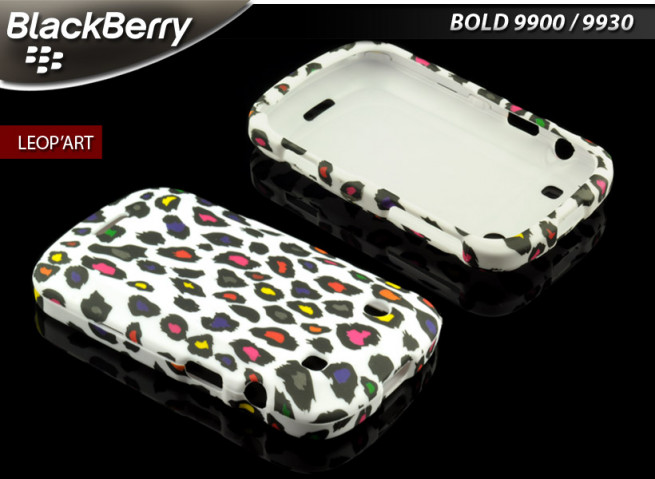 Coque BlackBerry Bold 9900 Leop'Art