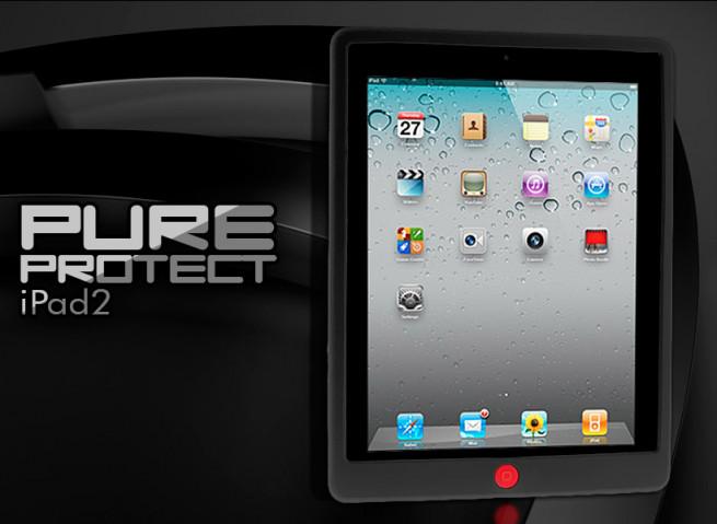 Coque iPad 3 noir