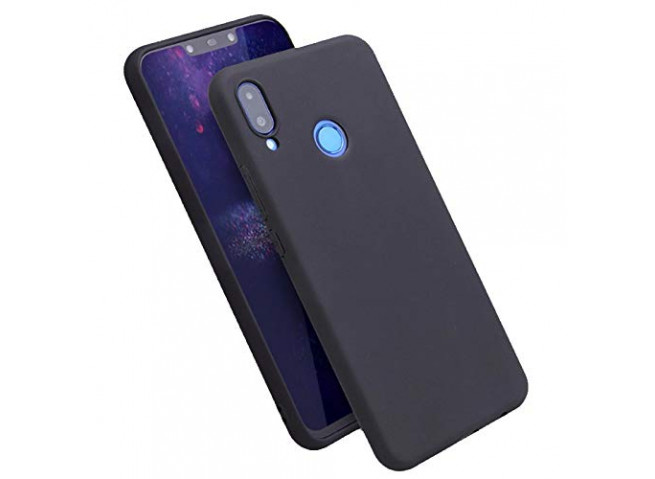 Coque Huawei P Smart 2019 Black Matte Flex