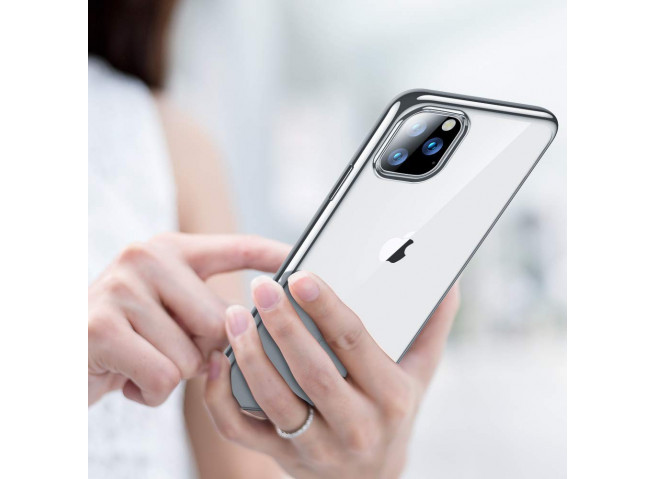 Coque iPhone 11 Pro Max Silver Flex