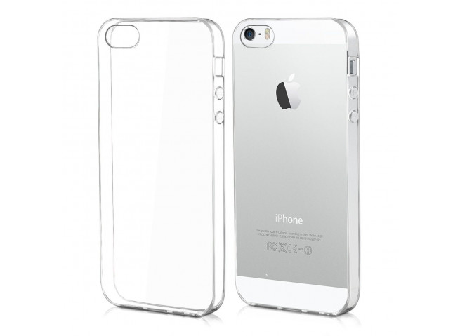 Coque iPhone 5/5S/SE Clear Hybrid