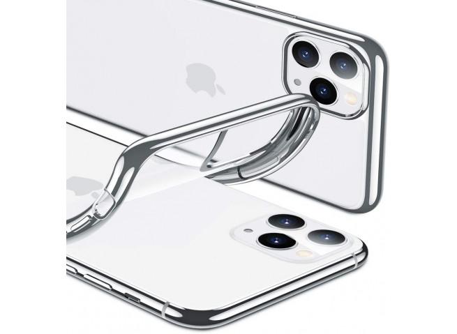 Coque iPhone 11 Pro Max Silver Flex