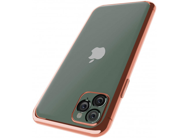 Coque iPhone 11 Rose Gold Flex