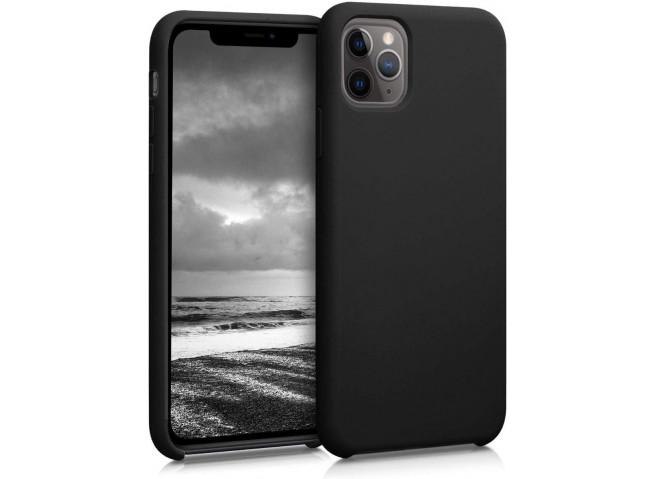 Coque iPhone 11 Pro Max Silicone Gel-Noir