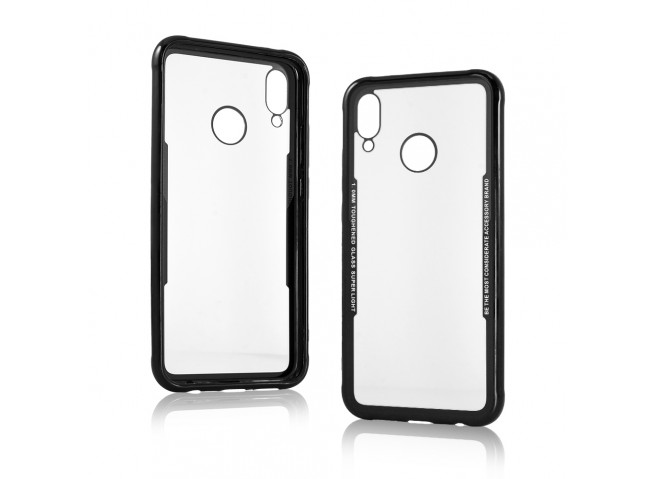 Coque iPhone X/XS Clear Protective-Black