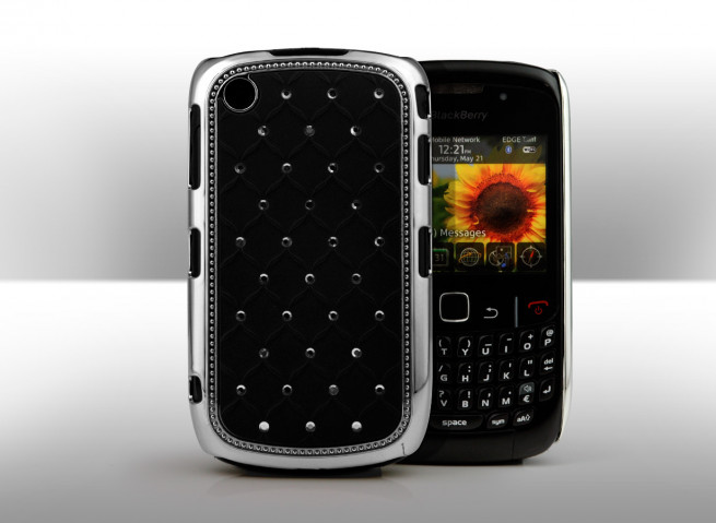 Coque BlackBerry Curve 8520 Luxury Leather