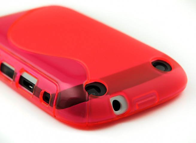 Coque Blackberry Curve 9320 Silicone Grip