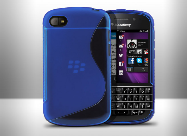 Coque Blackberry Q10 - Grip Flex Translucide