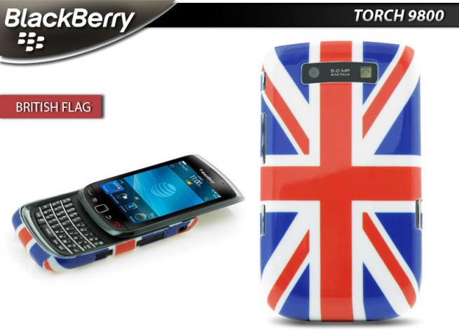 Coque BlackBerry Torch 9800 British Flag