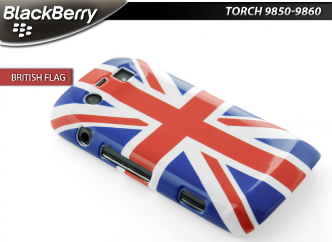 coque british blackberry 9850