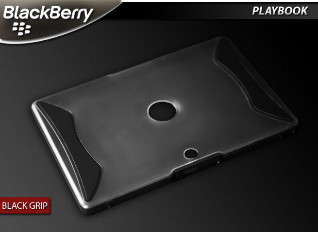 "Coque BlackBerry PlayBook ""Black Grip"""