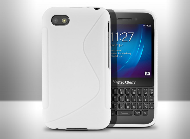 Coque Blackberry Q5 Silicone Grip Color