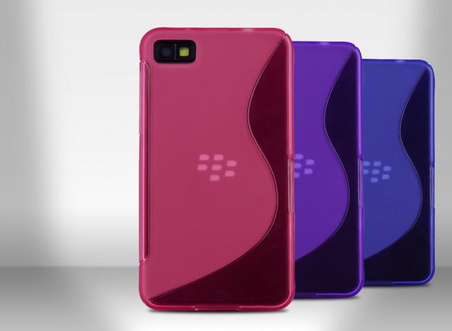 Coque Blackberry Z10 Silicone Grip Color