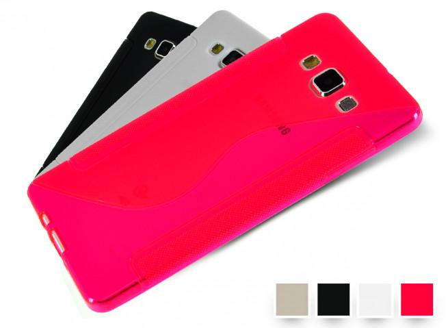 Coque Samsung Galaxy A7 Silicone Grip