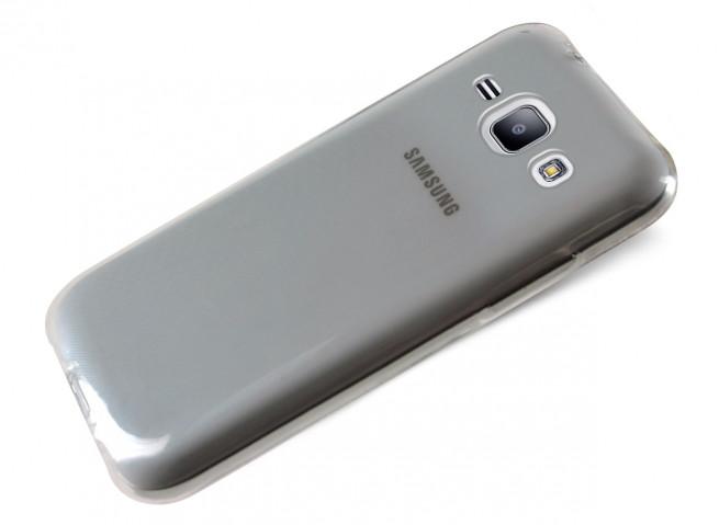 Coque Samsung Galaxy J1 Clear Flex