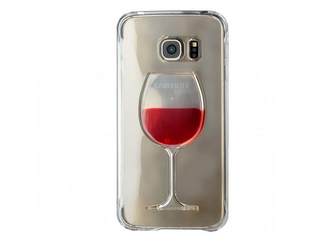 coque verre de vin iphone xs
