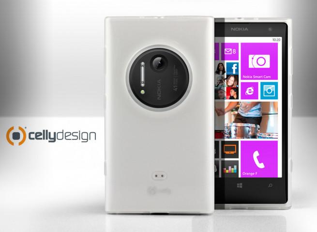 Coque Nokia Lumia 1020 - Flex case By Celly
