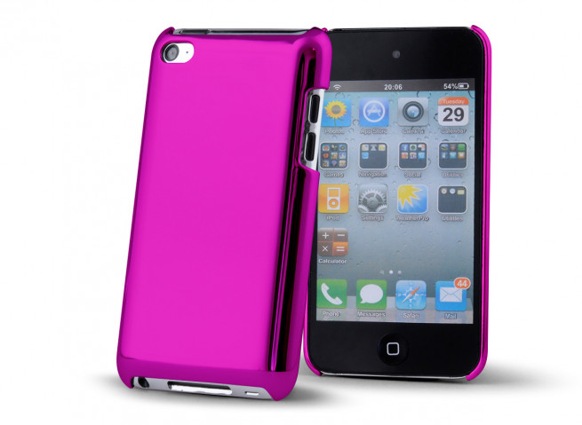 "Coque iPod Touch 4 ""Chrome Case"