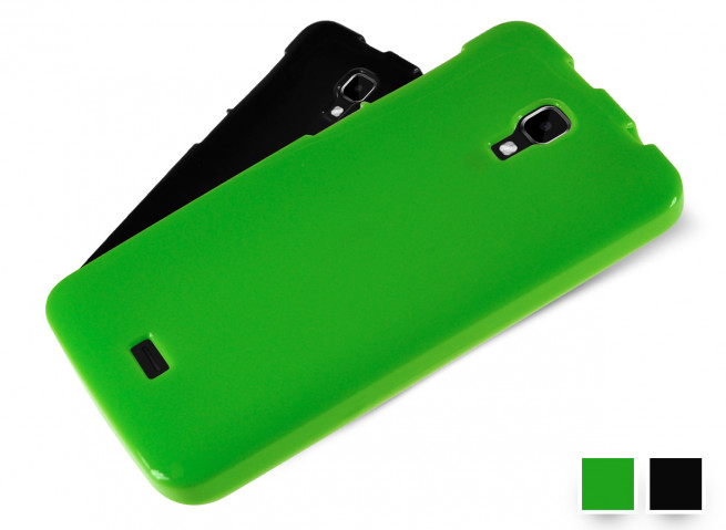 Coque Wiko Bloom Silicone Glossy