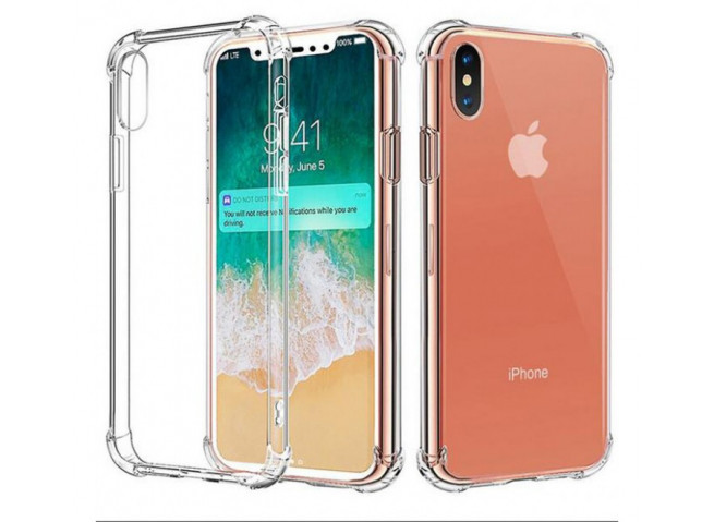 Coque iPhone XR Clear Shock