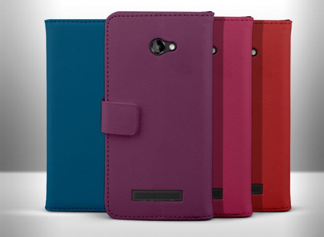 Etui HTC 8X Leather Color