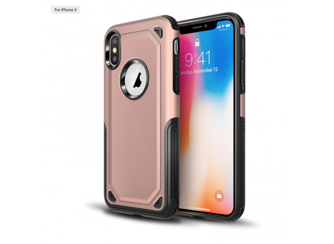 Coque Samsung Galaxy A8 2018 No Shock Case-Rose