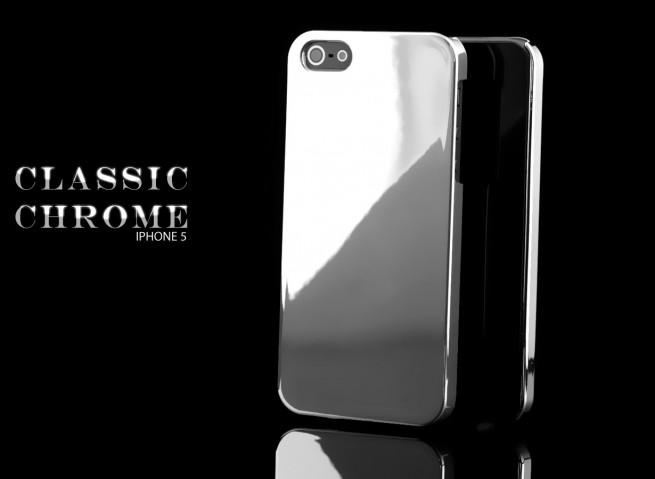 Coque iPhone 5 argent
