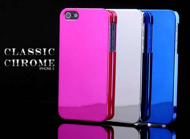 Coque iPhone 5 Classic Chrome