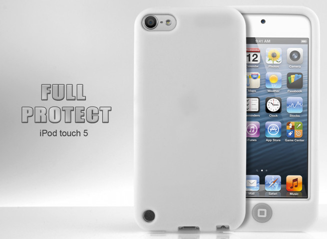 Coque iPod Touch 5 blanc