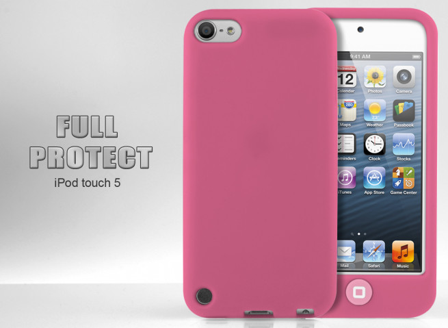 Coque iPod Touch 5 rose