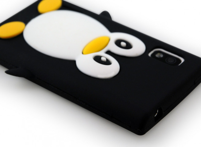 Coque LG Optimus L5 Pingouin