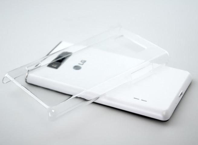 Coque LG Optimus L7 - Invisible Case