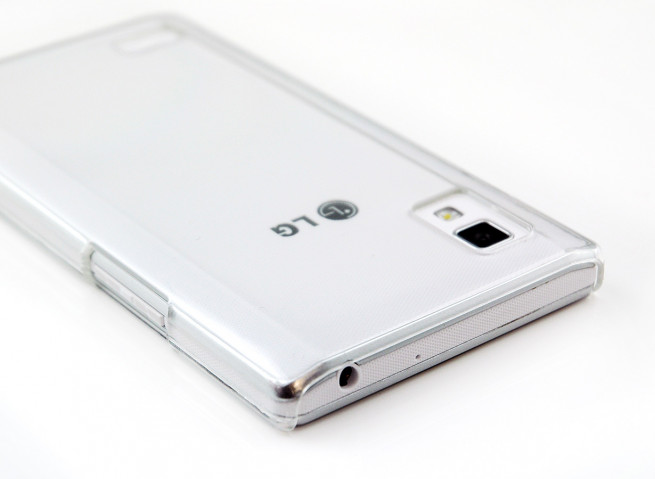 Coque LG Optimus L9 Invisible