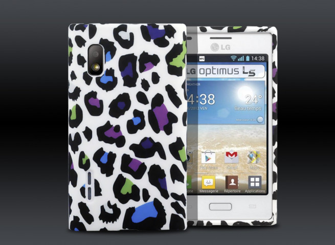 Coque LG Optimus L5 - Color Leopard