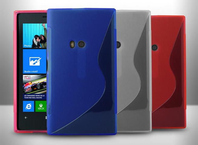 Coque Nokia Lumia 920 Silicone Grip