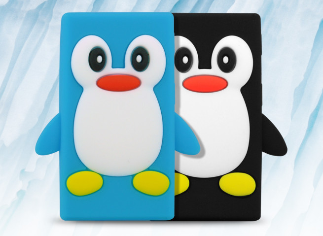 Coque iPod Nano 7 Pingouin