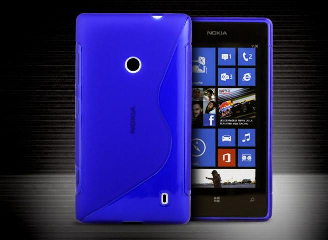 Coque Nokia Lumia 520 Grip Flex Translucide